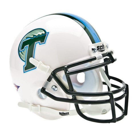 Tulane Green Wave College Football Collectible Schutt Mini Helmet - Picture Inside - FANZ Collectibles