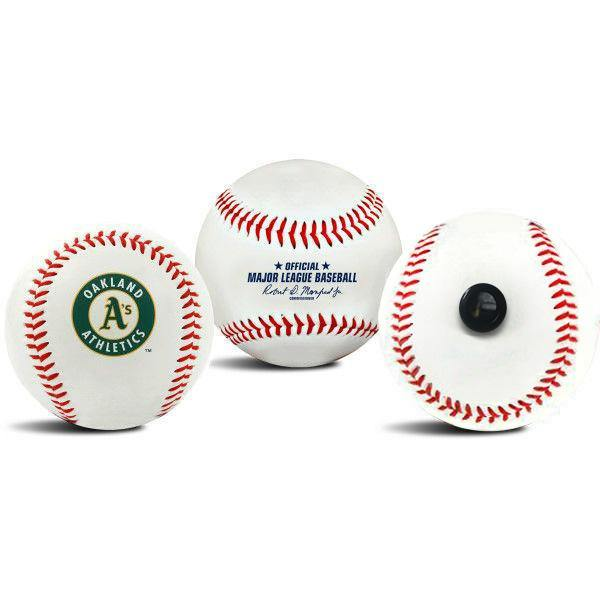 Oakland Athletics MLB Collectible Baseball - Picture Inside - FANZ Collectibles