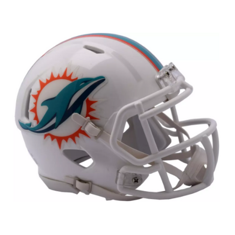 Miami Dolphins NFL Collectible Mini Helmet - Picture Inside - FANZ Collectibles
