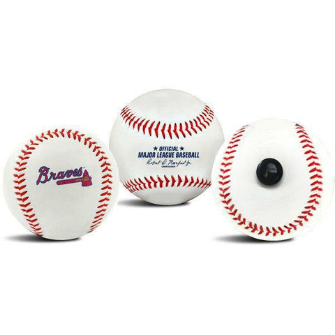 Atlanta Braves MLB Collectible Baseball - Picture Inside - FANZ Collectibles