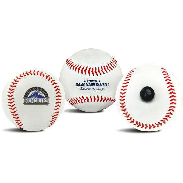 Colorado Rockies MLB Collectible Baseball - Picture Inside - FANZ Collectibles