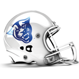 Georgia State Bulldogs College Football Collectible Schutt Mini Helmet - Picture Inside - FANZ Collectibles