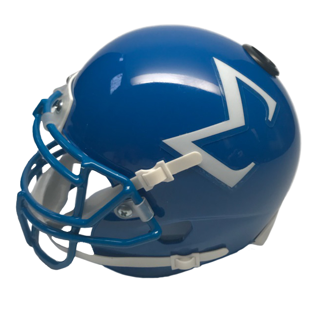 Phi Beta Sigma Miniature Football Helmet - Picture Inside - FANZ Collectibles - Fanz Collectibles