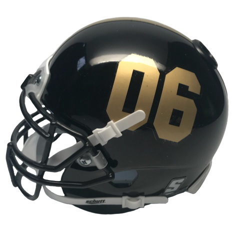 Alpha Phi Alpha Miniature Football Helmet - Picture Inside - FANZ Collectibles