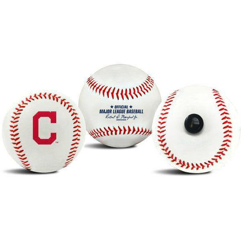 Cleveland Indians MLB Collectible Baseball - Picture Inside - FANZ Collectibles