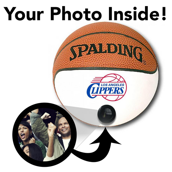 Clippers NBA Collectible Miniature Basketball - Picture Inside - FANZ Collectibles