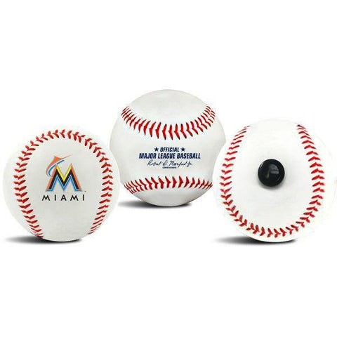 Miami Marlins MLB Collectible Baseball - Picture Inside - FANZ Collectibles
