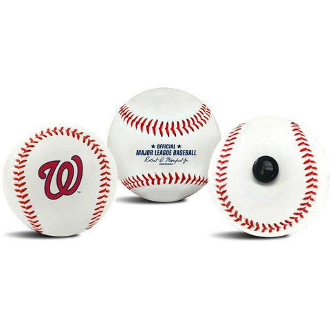 Washington Nationals MLB Collectible Baseball - Picture Inside - FANZ Collectibles