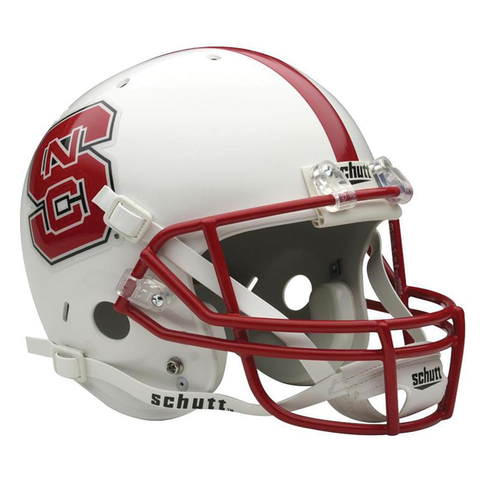 NC State Wolfpack College Football Collectible Schutt Mini Helmet - Picture Inside