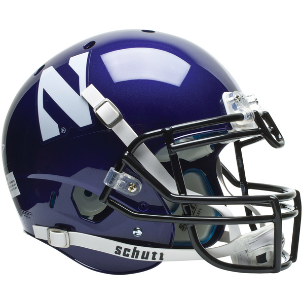 Northwestern Wildcats College Football Collectible Schutt Mini Helmet - Picture Inside - FANZ Collectibles