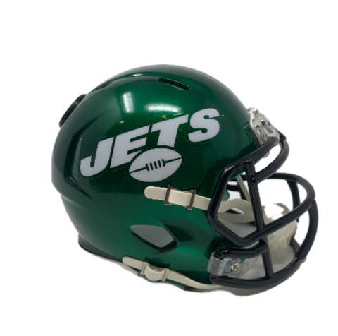 New York Jets NFL Collectible Mini Helmet - Picture Inside - FANZ Collectibles