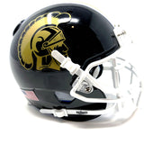 Carrolton Trojans HS Mini Football Helmet - Picture Inside - FANZ Collectibles