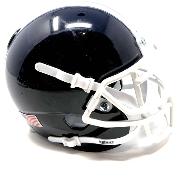 Marietta Blue Devils HS Mini Football Helmet - Picture Inside - FANZ Collectibles