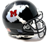 Martinsburg Bulldogs WV HS Mini Football Helmet - Picture Inside - FANZ Collectibles
