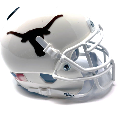 Lanier Longhorns HS Mini Football Helmet - Picture Inside - FANZ Collectibles