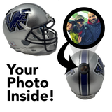 Westlake Lions HS Mini Football Helmet - Picture Inside - FANZ Collectibles