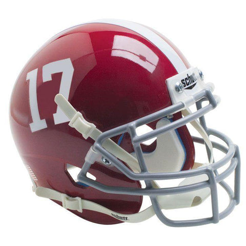 Alabama Crimson Tide College Football Collectible Schutt Mini Helmet - Picture Inside - FANZ Collectibles
