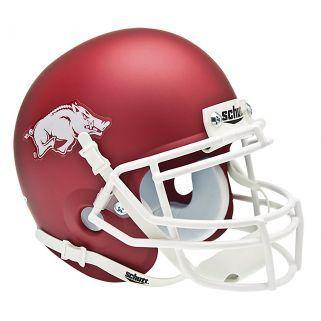 Arkansas Rasorbacks College Football Collectible Schutt Mini Helmet - Picture Inside - FANZ Collectibles