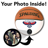 Hawks NBA Collectible Miniature Basketball - Picture Inside - FANZ Collectibles