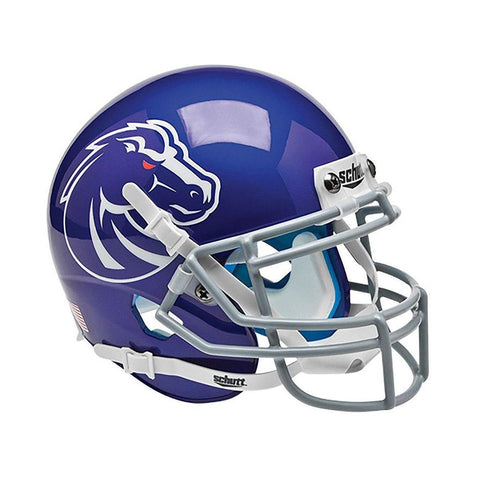 Boise State Broncos College Football Collectible Schutt Mini Helmet - Picture Inside - FANZ Collectibles