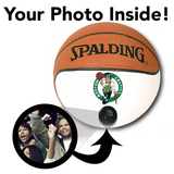 Celtics NBA Collectible Miniature Basketball - Picture Inside - FANZ Collectibles