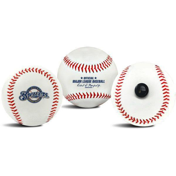 Milwaukee Brewers MLB Collectible Baseball - Picture Inside - FANZ Collectibles
