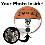 Nets NBA Collectible Miniature Basketball - Picture Inside - FANZ Collectibles