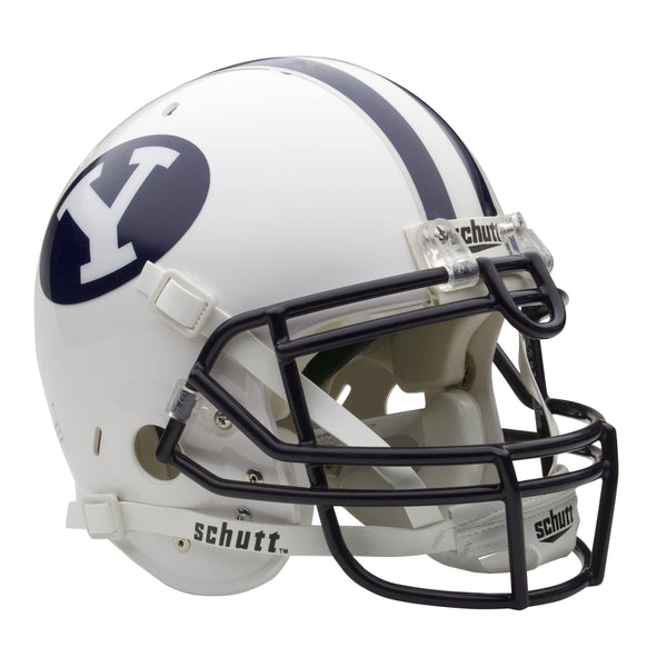 BYU Cougars College Football Collectible Schutt Mini Helmet - Picture Inside - FANZ Collectibles - Fanz Collectibles
