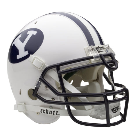 BYU Cougars College Football Collectible Schutt Mini Helmet - Picture Inside - FANZ Collectibles