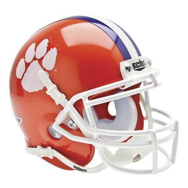 Clemson Tigers College Football Collectible Schutt Mini Helmet - Picture Inside - FANZ Collectibles