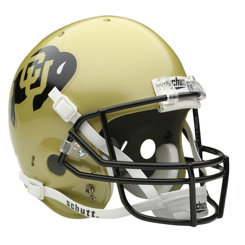 Colorado Buffaloes College Football Collectible Schutt Mini Helmet - Picture Inside - FANZ Collectibles