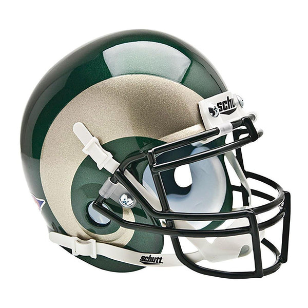 Colorado State Rams College Football Collectible Schutt Mini Helmet - Picture Inside - FANZ Collectibles