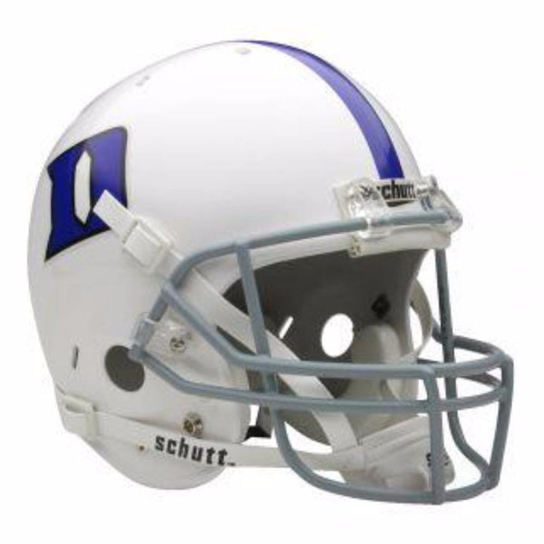Duke Blue Devils College Football Collectible Schutt Mini Helmet - Picture Inside - FANZ Collectibles