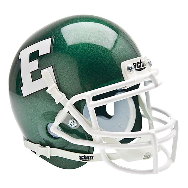 Eastern Michigan Eagles College Football Collectible Schutt Mini Helmet - Picture Inside