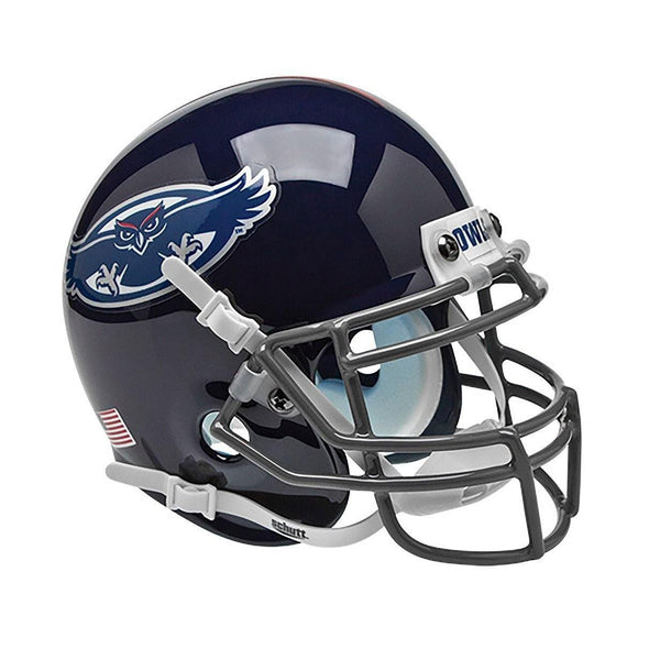 Florida Atlantic Owls College Football Collectible Schutt Mini Helmet - Picture Inside - FANZ Collectibles