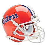 Florida Gators College Football Collectible Schutt Mini Helmet - Picture Inside - FANZ Collectibles