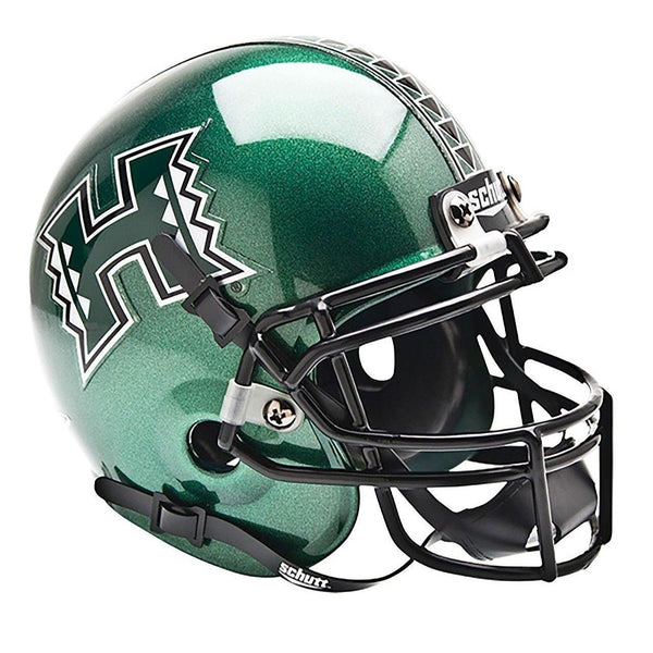 Hawaii Warriors College Football Collectible Schutt Mini Helmet - Picture Inside - FANZ Collectibles