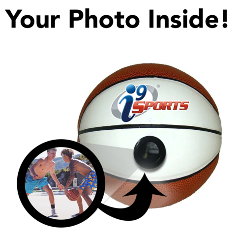 i9 Sports - Miniature Basketball - Picture Inside - FANZ Collectibles