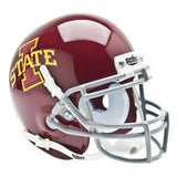 Iowa State Cyclones College Football Collectible Schutt Mini Helmet - Picture Inside