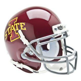 Iowa State Cyclones College Football Collectible Schutt Mini Helmet - Picture Inside - FANZ Collectibles