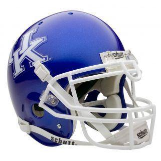 Kentucky Wildcats College Football Collectible Schutt Mini Helmet - Picture Inside