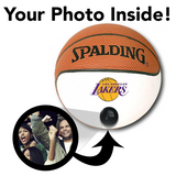 Lakers NBA Collectible Miniature Basketball - Picture Inside - FANZ Collectibles