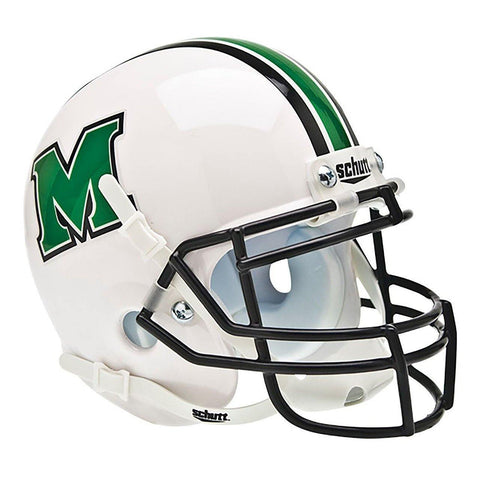 Marshall Thundering Herd College Football Collectible Schutt Mini Helmet - Picture Inside - FANZ Collectibles