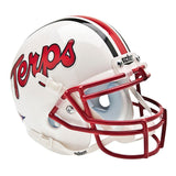 Maryland Terrapins College Football Collectible Schutt Mini Helmet - Picture Inside - FANZ Collectibles