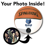 Grizzlies NBA Collectible Miniature Basketball - Picture Inside - FANZ Collectibles