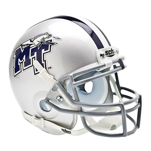 Middle Tennessee Blue Raiders College Football Collectible Schutt Mini Helmet - Picture Inside - FANZ Collectibles