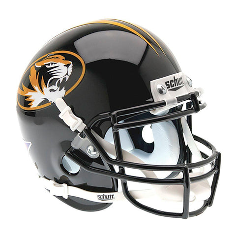 Missouri Tigers College Football Collectible Schutt Mini Helmet - Picture Inside - FANZ Collectibles