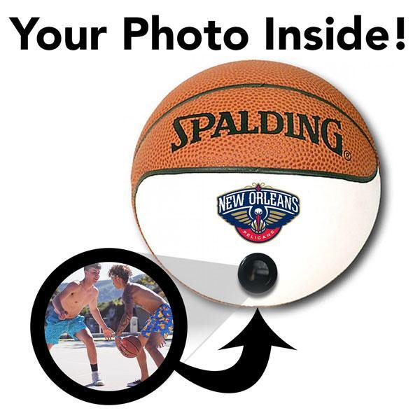 Pelicans NBA Collectible Miniature Basketball - Picture Inside - FANZ Collectibles