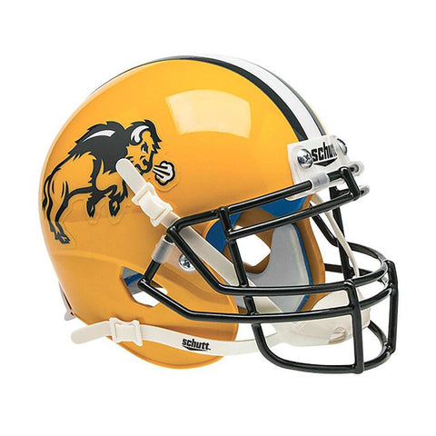 North Dakota Bisons College Football Collectible Schutt Mini Helmet - Picture Inside - FANZ Collectibles