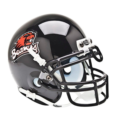Oregon State Beavers College Football Collectible Schutt Mini Helmet - Picture Inside - FANZ Collectibles